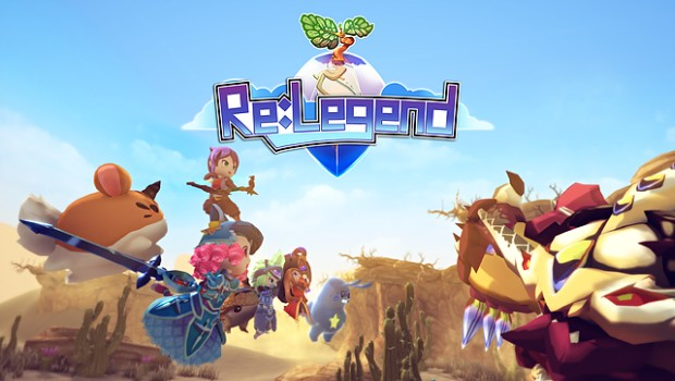 Re:Legend official artwork and logo