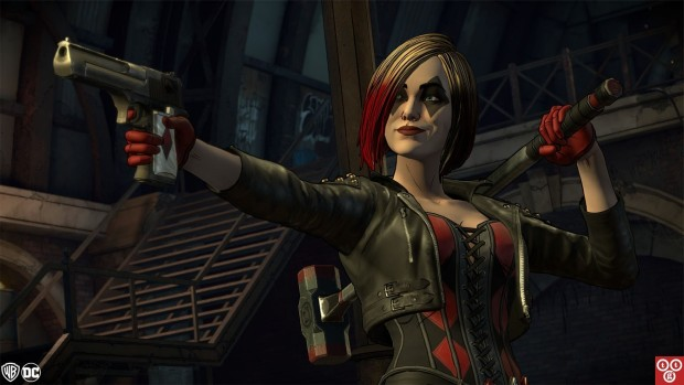 Harley Quinn from Episode 3 of Telltale's Batman: The Enemy Within series