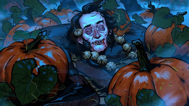 Regis artwork from Gwent's Halloween Event