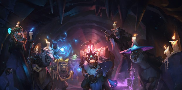 Hearthstone: Kobolds and Catacombs artwork from the trailer