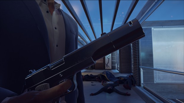 Hitman screenshot from the new bonus mission Patient Zero