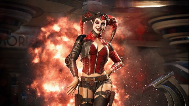 Injustice 2 screenshot of Harley Quinn