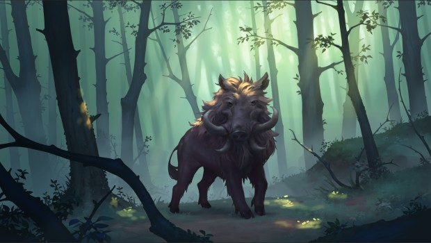 Northgard artwork for the newly added Clan Boar