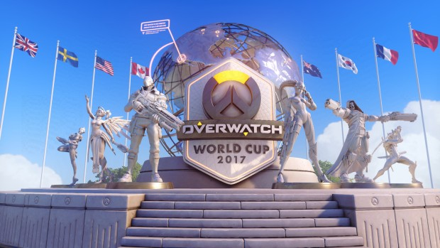 Overwatch World Cup 2017 official artwork and logo
