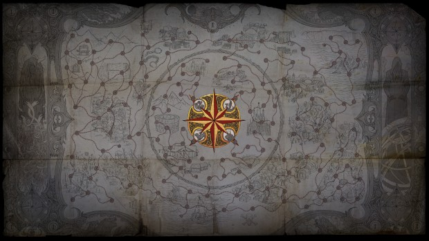 Path of Exile: War for the Atlas expansion screenshot of the new map system