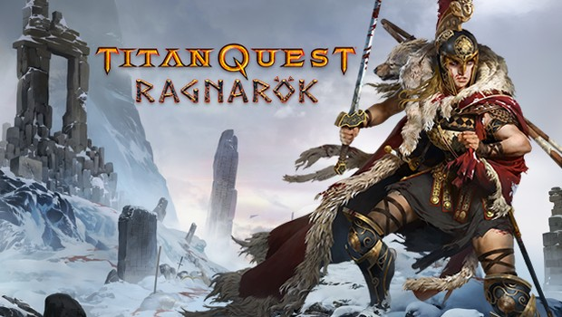 Titan Quest: Ragnarok official artwork and logo