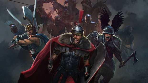 Total War: Arena artwork showing multiple factions