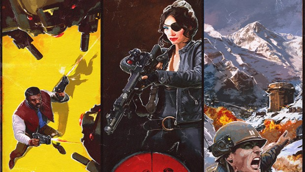 Wolfenstein 2: Freedom Chronicles DLC official artwork