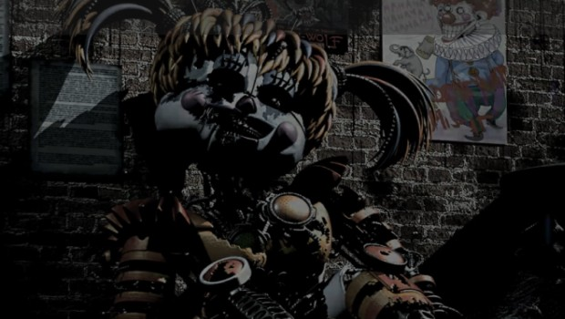 Five Nights at Freddy's 6 screenshot of the broken-down animatronic