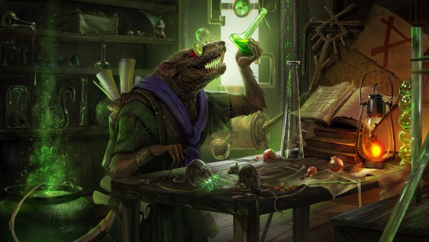 "Total War: Warhammer 2 artwork for the upcoming ""The Laboratory"" update"
