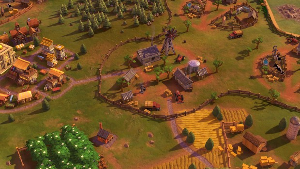 Civilization 6 Australian Outback Station improvement screenshot