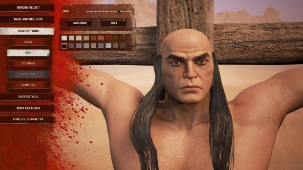 Conan Exiles character creator sillyness