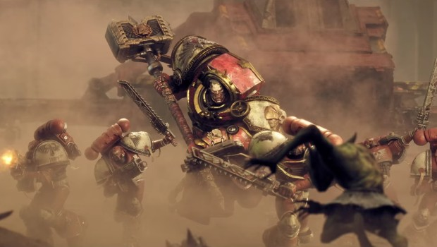 Dawn of War 3's official artwork for Space Marines
