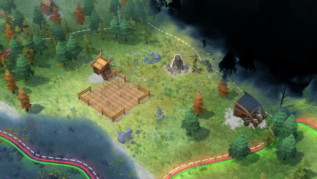 Northgard screenshot showing the silly AI
