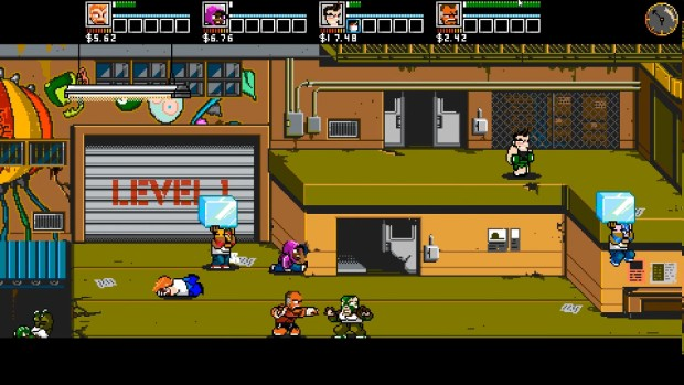River City Ransom: Underground multiplayer gameplay screenshot