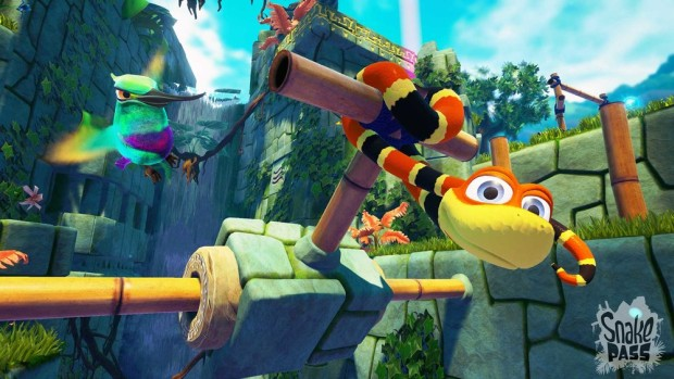 Snake Pass screenshot of Noodle