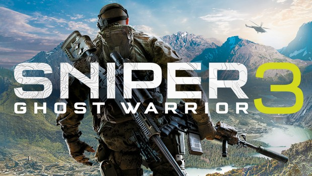 Sniper Ghost Warrior 3 official artwork and logo