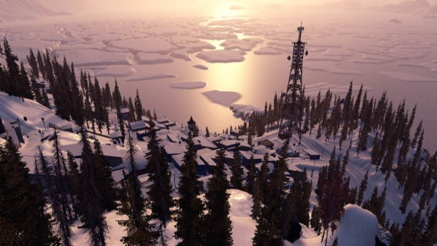 Steep Alaska update screenshot showcasing some gorgeous enviroments