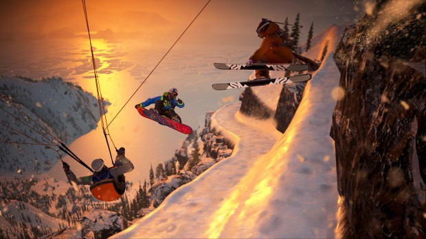 Steep Alaska update official promo screenshot