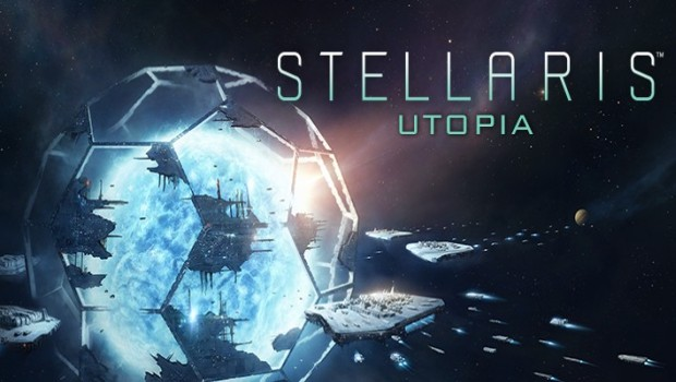 Stellaris Utopia expansion official artwork