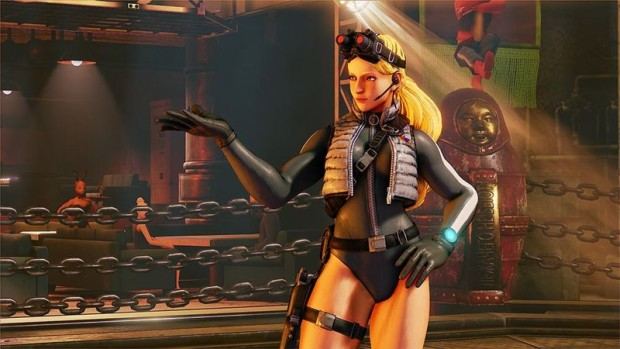 Street Fighter 5's Kolin battle costume