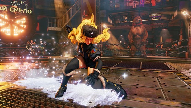 Street Fighter V screenshot of Kolin in battle