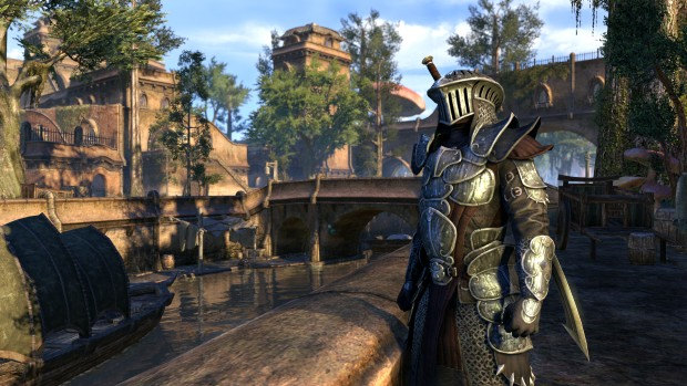 The Elder Scrolls Online: Morrowind screenshot of Balmora