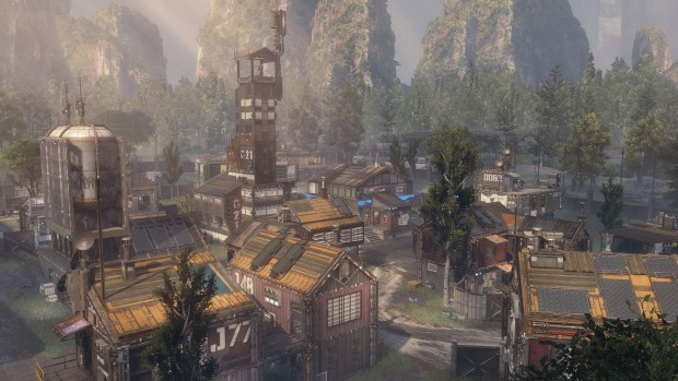 Image of Titanfall 2's Colony map