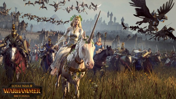 Total War: Warhammer Bretonnia screenshot featuring Fay the Enchantress