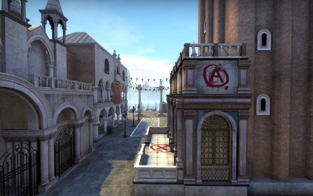 Counter-Strike: Global Offensive Canals map A site