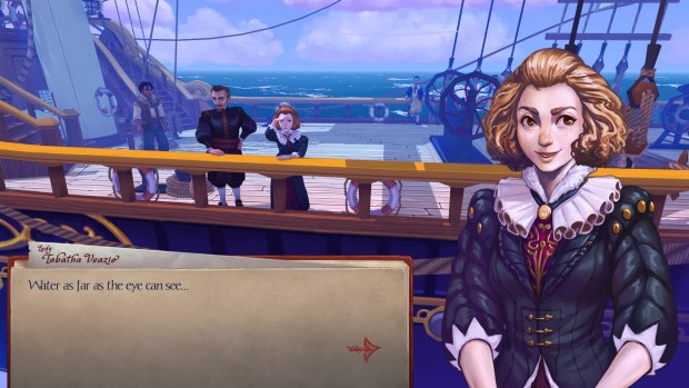 Herald screenshot showing the character artwork