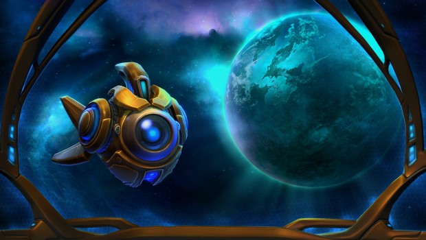 Heroes of the Storm Probius official artwork from Blizzard