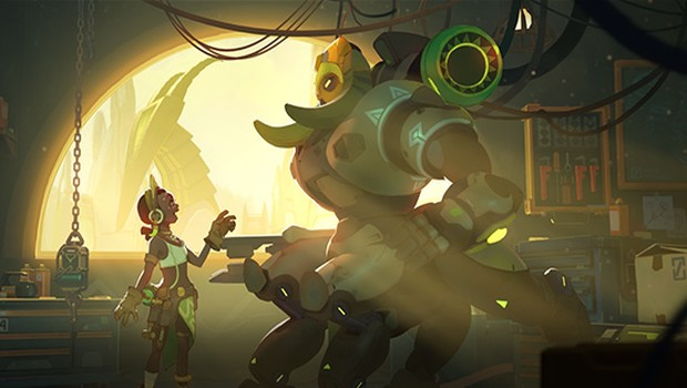 Orisa is Overwatch's 24th hero