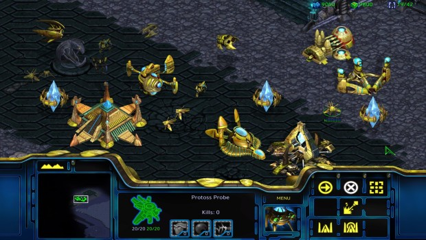 StarCraft: Remastered official screenshot for the Protoss