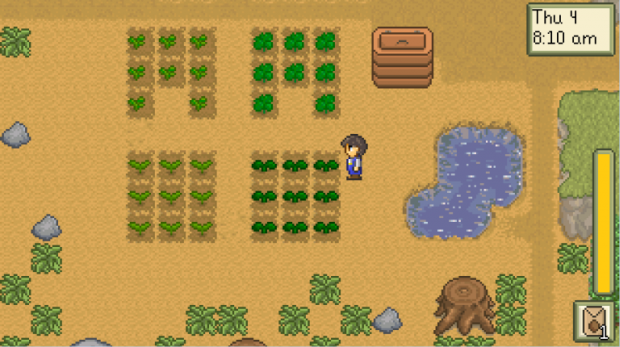 Stardew Valley old screenshot of the farm