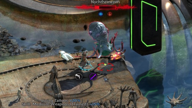 Torment: Tides of Numenera demon squid
