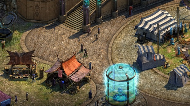 Torment: Tides of Numenera Sagus Cliffs screenshot