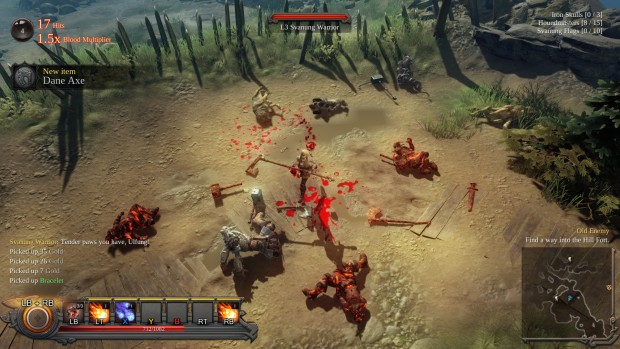 Vikings: Wolves of Midgard screenshot of a bunch of dead wolves