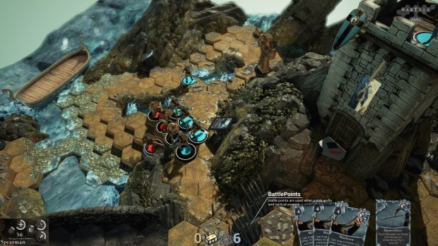 Wartile screenshots of some close quarters combat