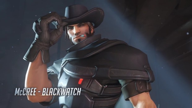 Overwatch Insurrection update Blackwatch McCree skin
