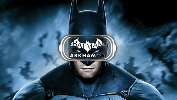Batman: Arkham VR official logo and artwork