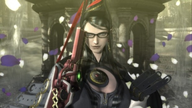 Bayonetta up-close screenshot
