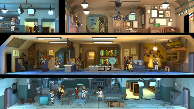 Fallout Shelter screenshot from the PC version