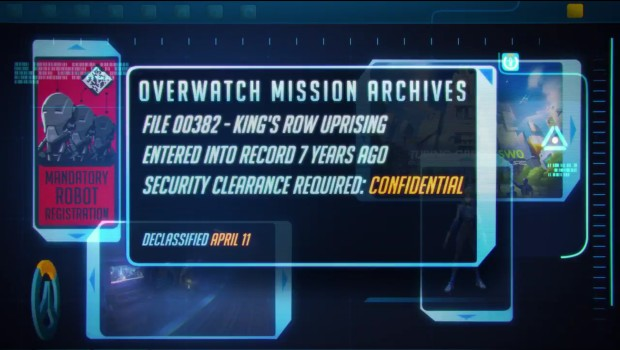 The April 11th teaser for Overwatch