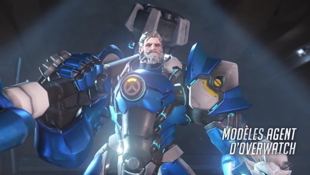 Overwatch Insurrection update young agent Reinhardt skin