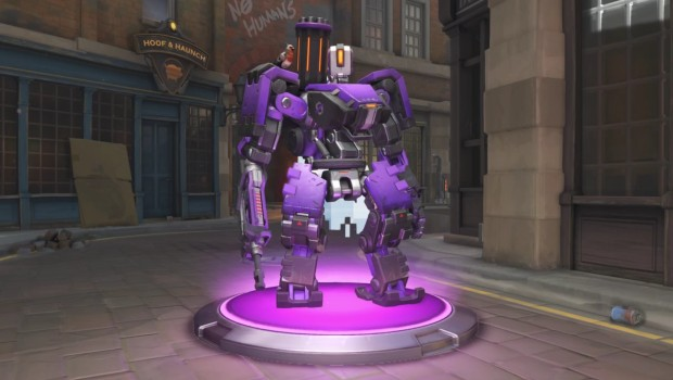 Overwatch Insurrection update Insurrection purple Bastion skin