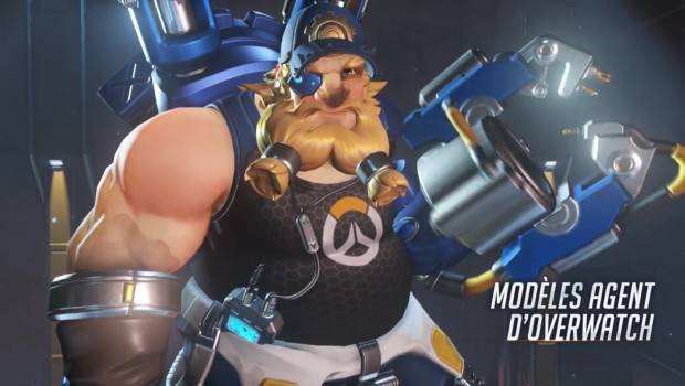 Overwatch Insurrection update oldschool agent Torbjorn skin