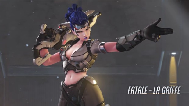 Overwatch Insurrection update Widowmaker human cosmetic