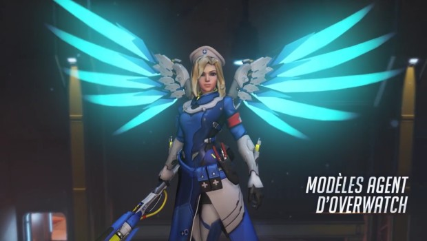 Overwatch Insurrection update young agent Mercy skin