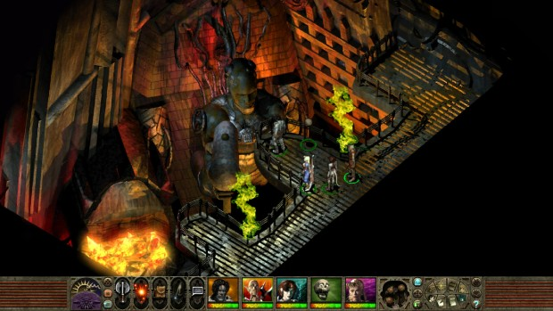 Planescape: Torment Enhanced Edition screenshot of the Forgemaster
